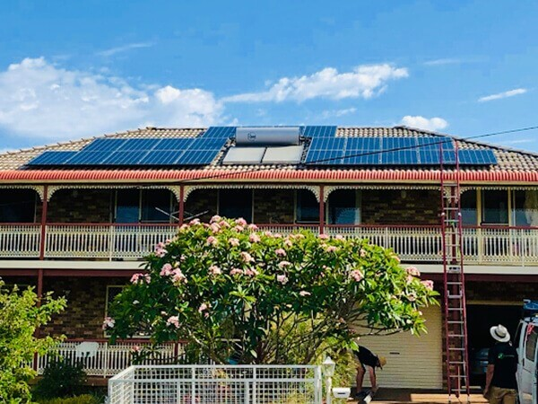 solar panels taree